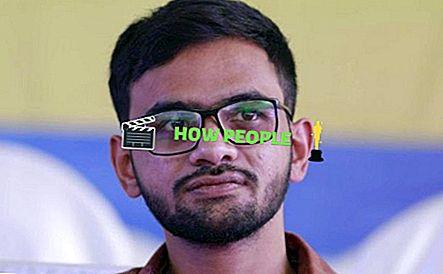 Umar Khalid Wiki (estudante da JNU) Idade, altura, peso, biografia, família, casta e perfil