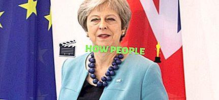 Theresa May höjd, ålder, vikt, make, biografi, nettovärde & fakta