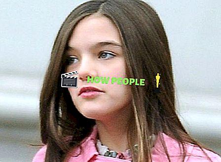 Suri Cruise Wiki (Katie Holmes 'Daughter) Età, biografia, famiglia e altro