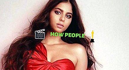 Suhana Khan höjd, vikt, ålder, pojkvän, biografi, familj & fakta