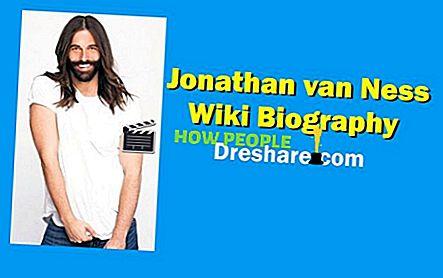 Jonathan van Ness Altura, peso, edad, novio, biografía, familia y más
