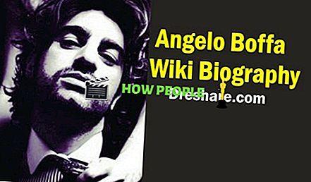 Angelo Boffa Wiki, Biografie, Vermögen, Alter (Sharone Stone) Freundin, Verlobung, Ehefrau, Verlobter, Größe und Gewicht