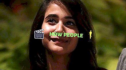 Deepthi Sunaina Yaş, Boy, Biyo, Ağırlık, Wiki, Erkek Arkadaş, Net Değeri ve Vücut İstatistikleri