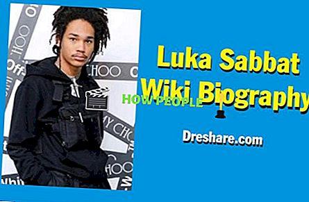 Luka Sabbat Wiki ، السيرة الذاتية ، Net Worth ، العمر ، صديقة ، الأوشام ، الأهل ، الطول والوزن